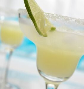 This is the best margarita hands down I've ever tried and no fancy mix is needed!