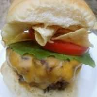 How to make Bobby Flays Crunch Burger - his signature burger