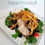 Copycat Panera BBQ Chicken Salad