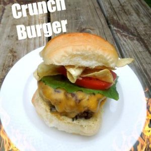 Make Bobby Flay's Crunch Burger!