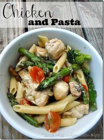 Healthy Chicken And Pasta One Dish Skillet Recipe Miss Information