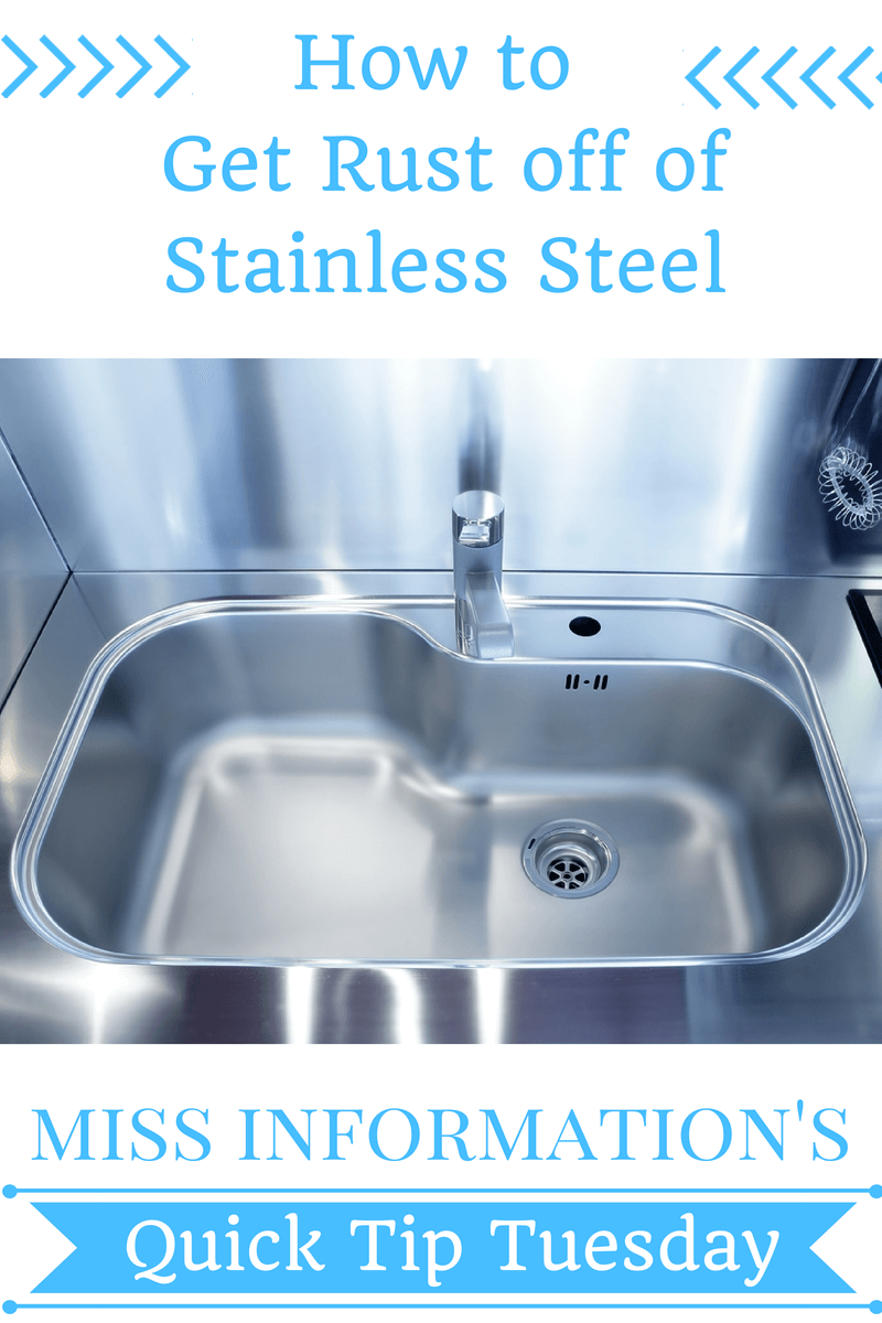 How To Remove Rust Stains From Stainless Steel Miss