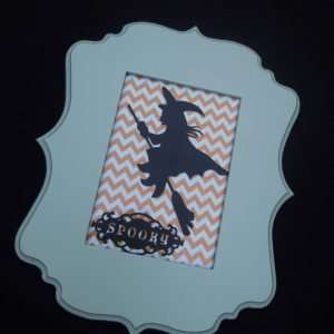 Cricut Crafts: Spooky Witch Picture