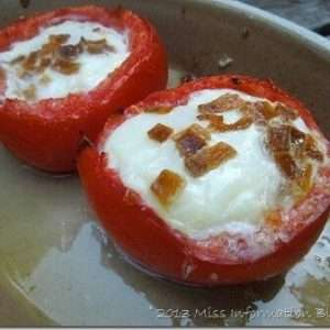 Tomato Egg Cups | Paleo Breakfast Recipe