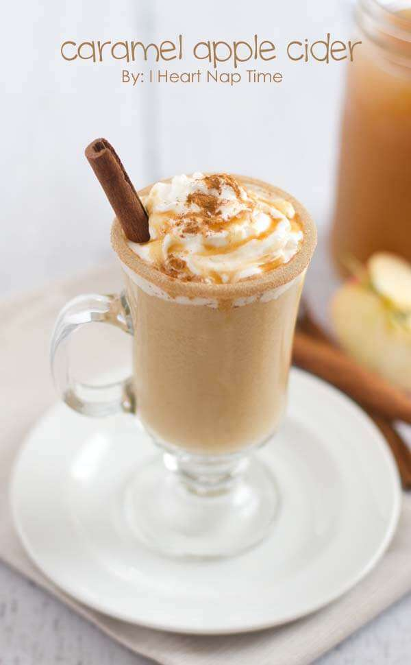 Over 40 fall drink recipes including cocoas, ciders and more