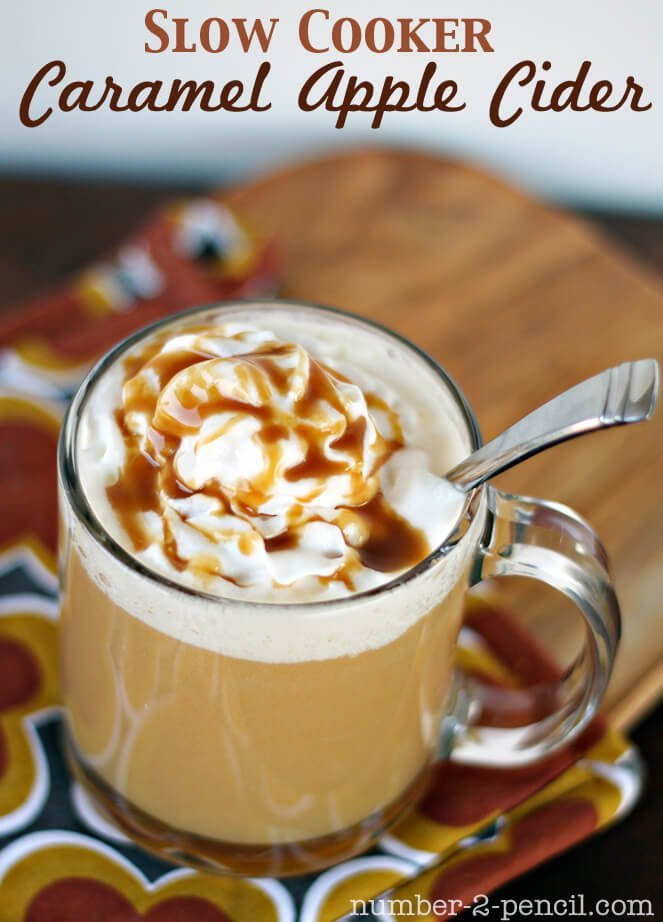Slow Cooker Fall Drink Recipes and Over 40 fall drink recipes including cocoas, ciders and cocktails