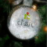 Decoupage Christmas Ornaments {Martha Stewart Crafts}
