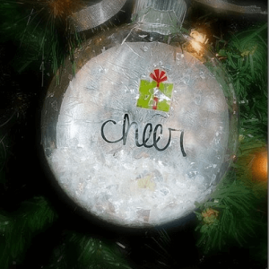 Decoupage Christmas Ornaments {Martha Stewart Crafts}