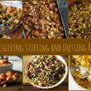Homemade Stuffing and Dressing Recipes