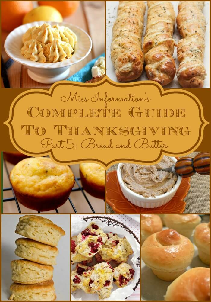 Bread is a favorite part of any meal and these homemade holiday bread recipes and compound butters will make this favorite side dish special