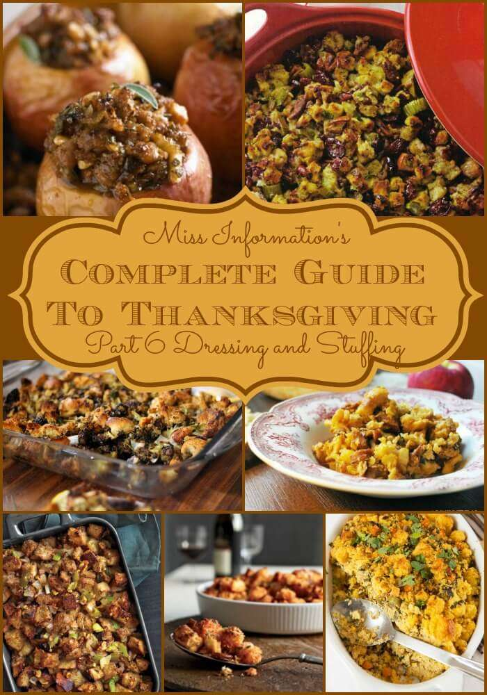 No matter what you call it, these sensational homemade stuffing and dressing recipes will dress up any Thanksgiving menu!