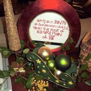 Decorative Christmas Plate How To
