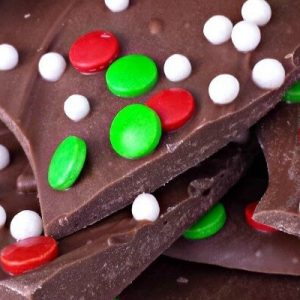 Milk Chocolate Christmas Bark