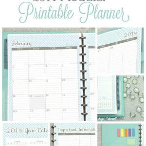 Blog Planner to organize post's passwords, social media and your groceries!