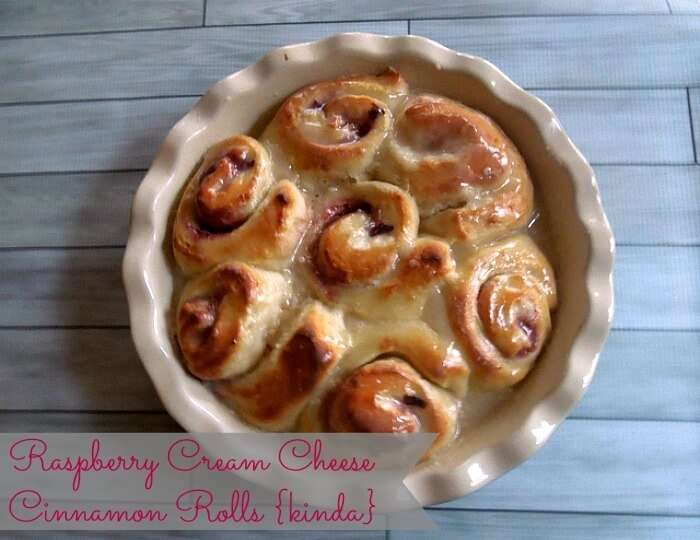 Raspberry Cream Cheese Breakfast Rolls, heaven! Make and FREEZE