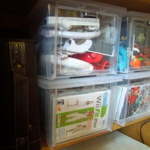 How to Organize Video Games and Accessories
