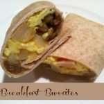 Breakfast Burritos for Mornings on the Run