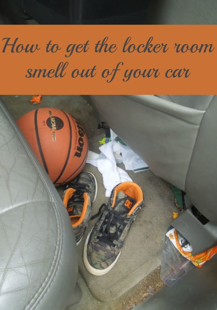 How to get the locker room smell out of your car