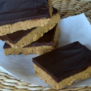Dark Chocolate Peanut Butter Bar Recipe
