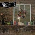 Halloween Mantle Reveal