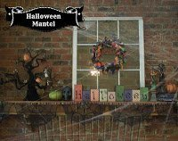 Halloween Mantle Reveal