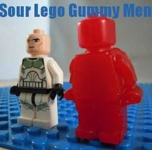 Lego Fruit Snacks ( How to make Sour Gummies)