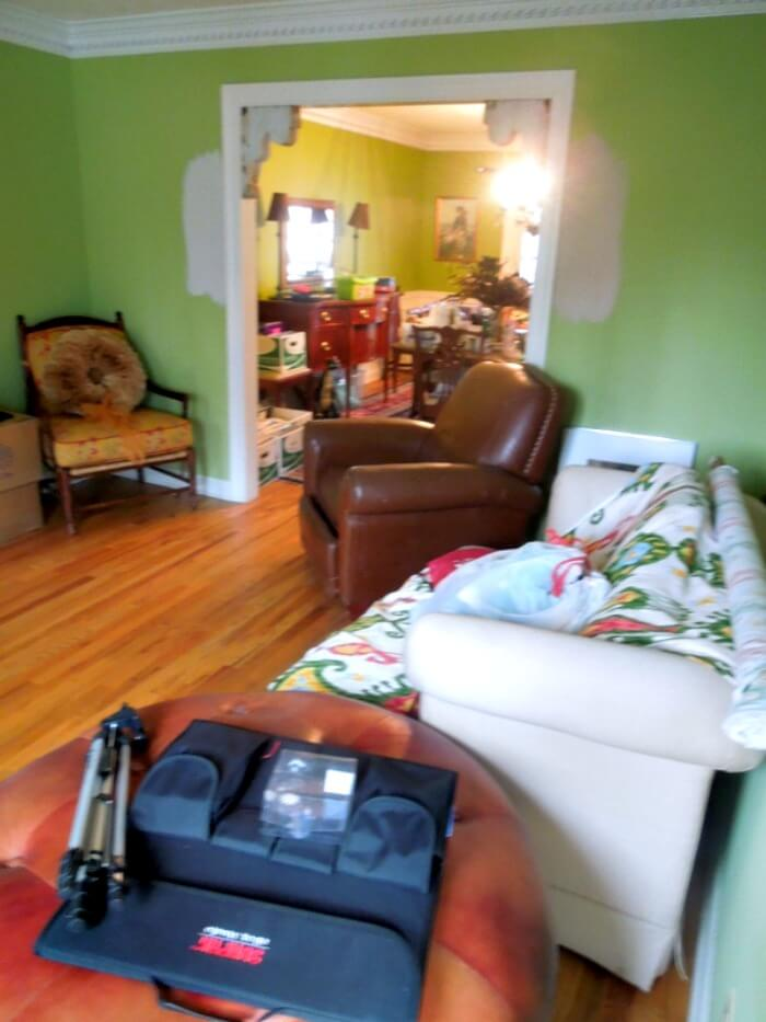 What a bloggers house really looks like behind the scenes