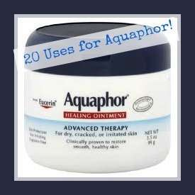 20 Amazing uses for Aquaphor ointment!