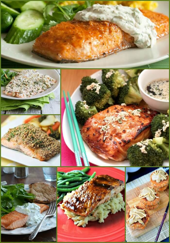 18 Simple Salmon Recipes that are easy to make, yummy and healthy!