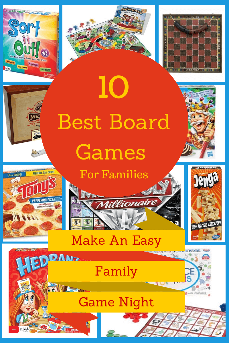 Have a Family Game Night with one of these great games and a Tony's Authentic Pizza for a quick meal so you can get your game on! #tonyspizzeria