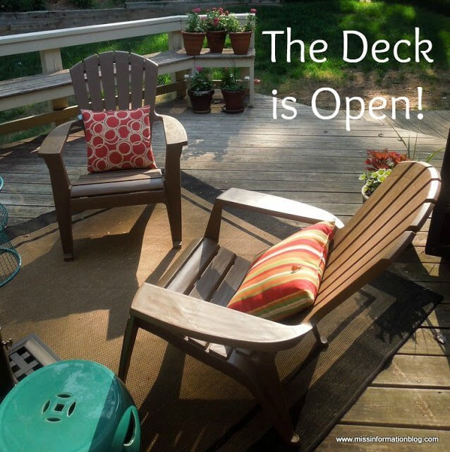 Get your porch ready for spring!