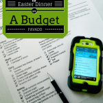 Easter Dinner Ideas {on a Budget}