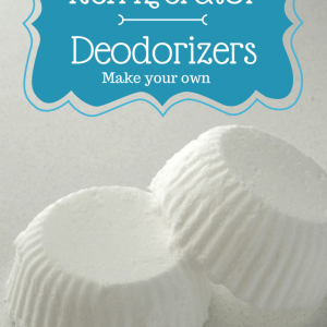 Get lingering food smells out of your fridge with these easy to make, homemade refrigerator deodorizers. Just 3 ingredients! Get the instructions on MissInformationBlog.com