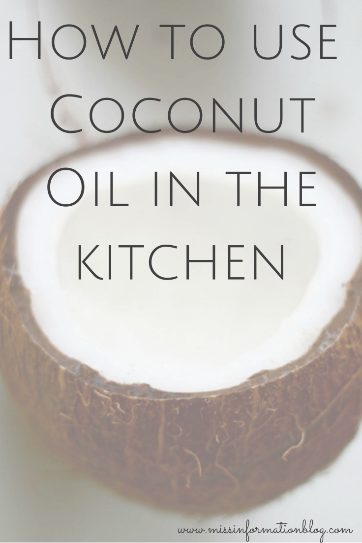 Uses for coconut oil in the kitchen it's not just for cooking