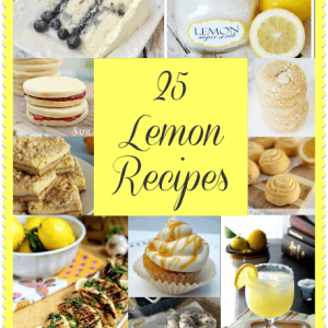25 Lemon Recipes