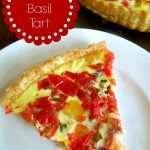 Garden-Fresh Tomato Basil Tart