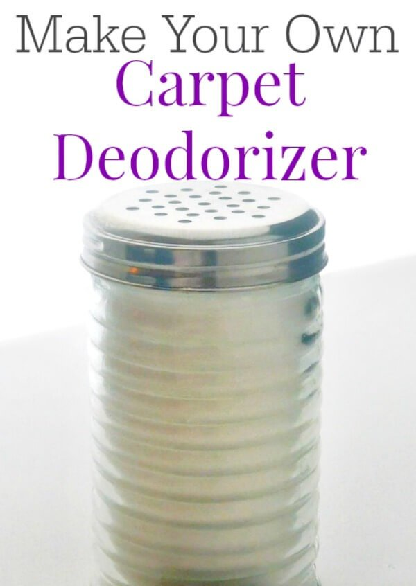 Hate overpowering carpet deodorizers? DIY your own with this easy homemade cleaner recipe