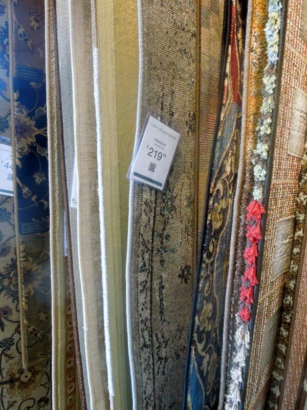 Selection of Rugs from Havertys