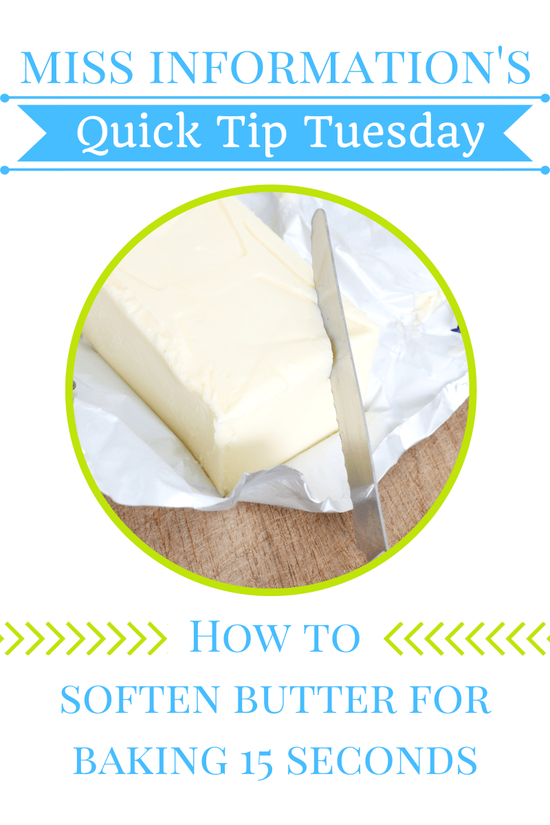 Want to bake and have no time to wait for your butter to soften? Here's how to do it in under a minute!