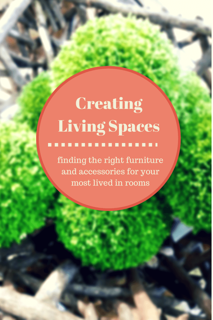 Living spaces are the ones you use most often, see how to create a beautiful one with less money
