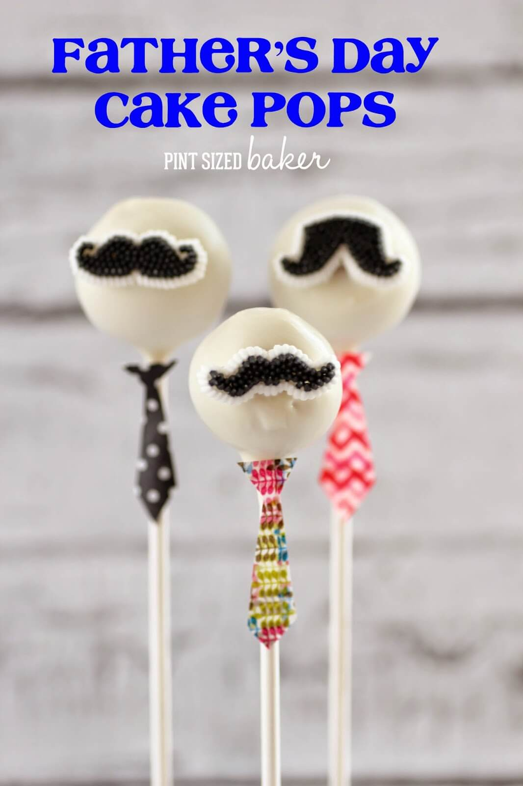 Fathers Day Cake Pop's the most viewed Post at Cook it! Craft it! Share it! Link Party, come join us and link up your best!