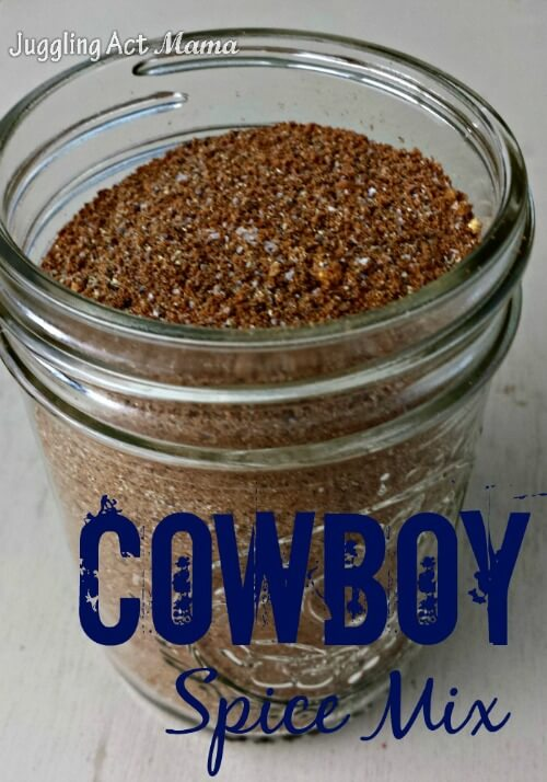Cowboy Spice Mix It's the best steak rub we've ever used