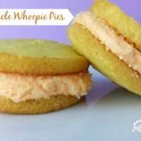 Creamsicle Whoopie Pies are fun to make and a great spring and summer treat!