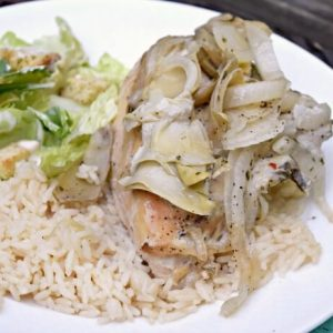 Lemon Artichoke Crock Pot Chicken Recipe
