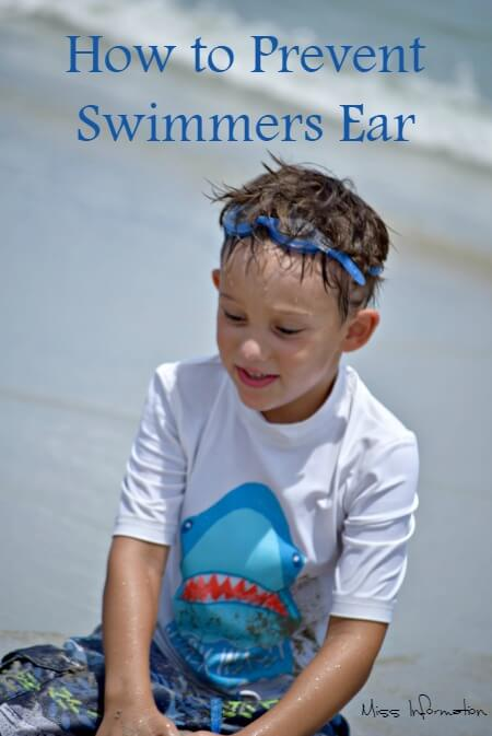 My Pediatrician's recipe to prevent swimmers ear so there are no ear aches this summer!