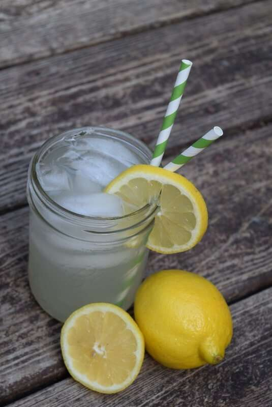 Summers most favorite cocktail - kicked up lemonade!