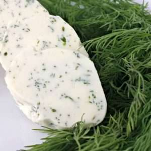 Simple Dill Compound Butter by Juggling Act Mama