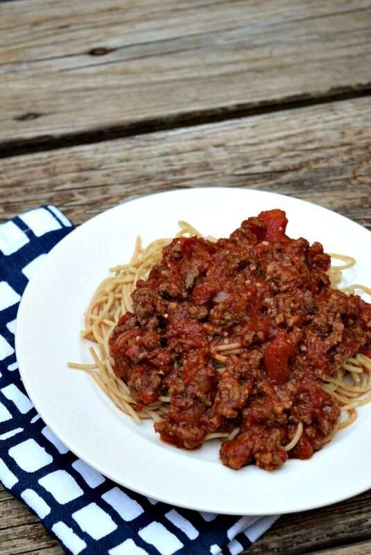 Homemade Spaghetti Sauce, quick and easy freeze some for later!