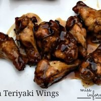 Asian Teriyaki Grilled Chicken Wings