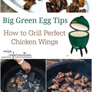 Big Green Egg Grilling Tips for Chicken Wings